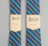 The Hill-Side - 216 - Indigo Chambray Plaid Necktie, Blue / Green - PT1-216
