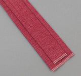 The Hill-Side - 289 - Selvedge Covert Chambray Necktie, Red - ST1-289