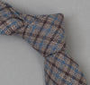 The Hill-Side 292 - Black & Tan Covert Gun Check Necktie