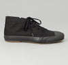 The Hill-Side 2/2 Herringbone Twill Chukka Sneakers, Black