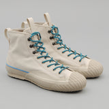 The Hill-Side - All-Weather High Tops, Waterproof Ventile Twill, Lunar Dust - SN6-394