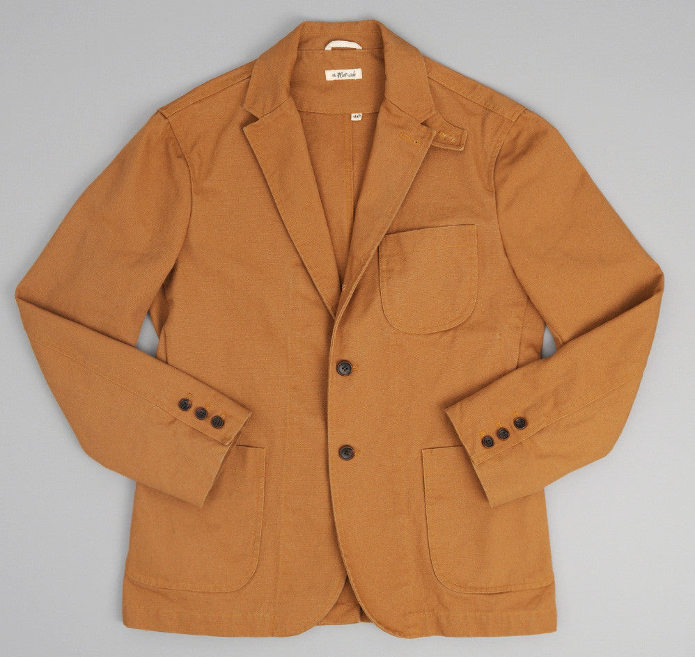 The Hill-Side - American Brown Duck Tailored Jacket - JK1-313