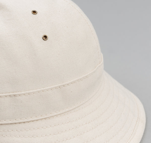 The Hill-Side - American Industrial Canvas Daisy Mae Hat, Natural - HA5-314