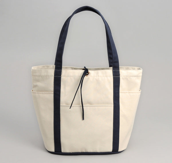 The Hill-Side Heavy Duty Tote Bag, Industrial Canvas