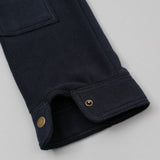 The Hill-Side - Astro Cargo Shirt, Nylon Polar Fleece, Navy - SH6-402