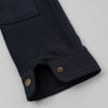 The Hill-Side Astro Cargo Shirt, Nylon Polar Fleece, Navy