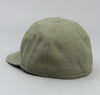 The Hill-Side - Back Satin Chino Ball Cap, Olive Drab - CA1-341