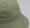 The Hill-Side - Back Satin Chino Daisy Mae Hat, Olive Drab - HA5-341