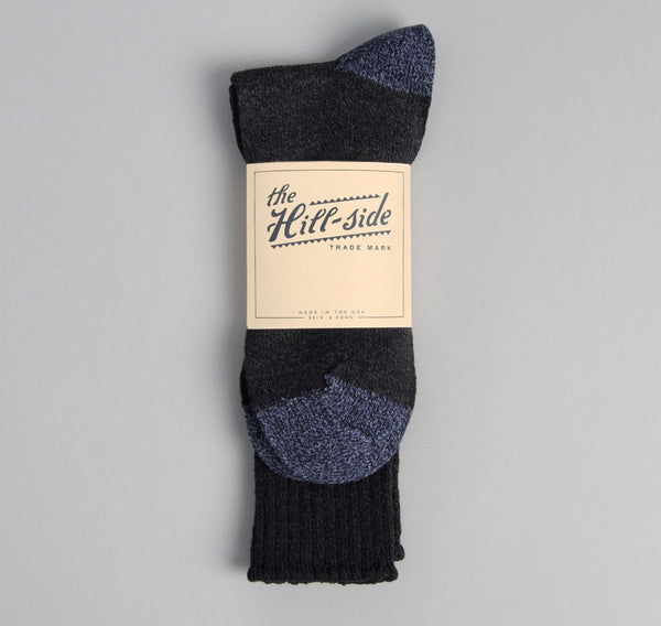 The Hill-Side - Black / Navy Socks - SX1-08