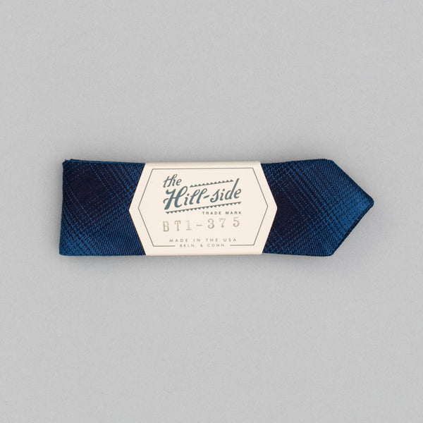 The Hill-Side - Bow Tie, Indigo Ombre Plaid Flannel - BT1-375