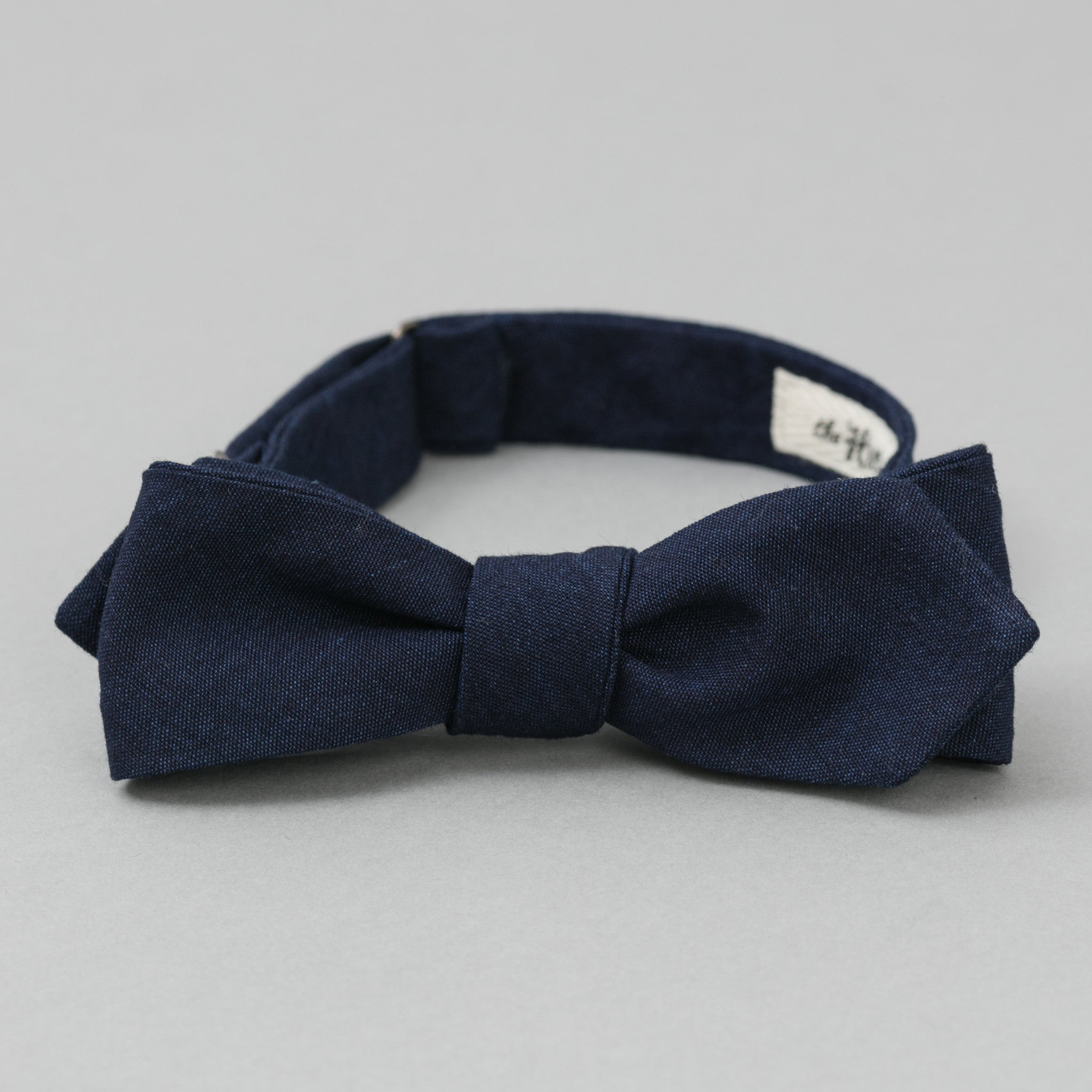 The Hill-Side Double Indigo Oxford Bow Tie