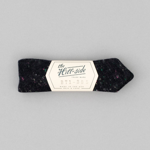 "The Hill-Side - Bow Tie, Wool Blend ""Galaxy"" Tweed, Navy - BT1-385"