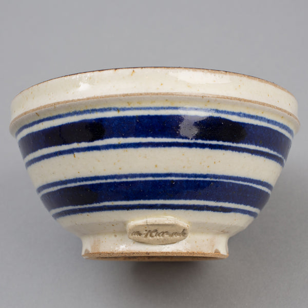 "The Hill-Side - Cereal Bowl, ""Endo Stripes"" Motif - CE2-03"