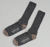 The Hill-Side - Charcoal / Salt & Pepper Socks - SX1-04