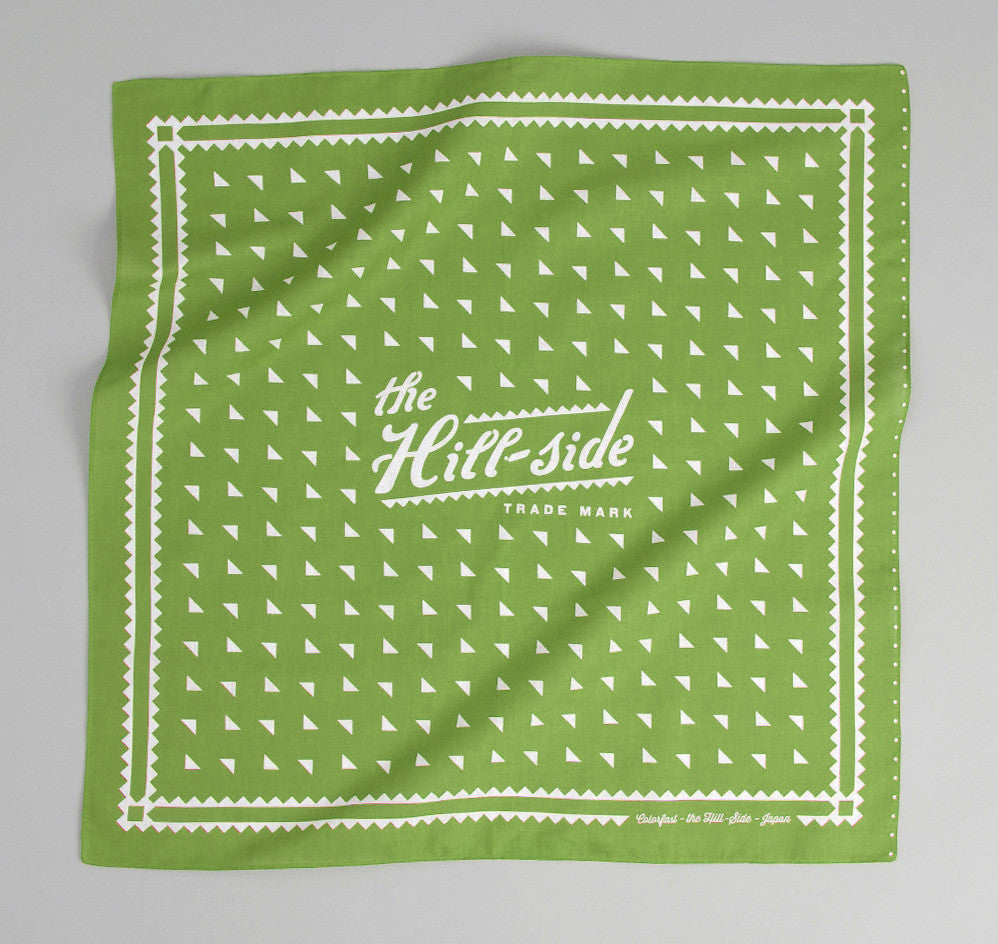 The Hill-Side - Classic Logo Souvenir Bandana, Green - SB3-04