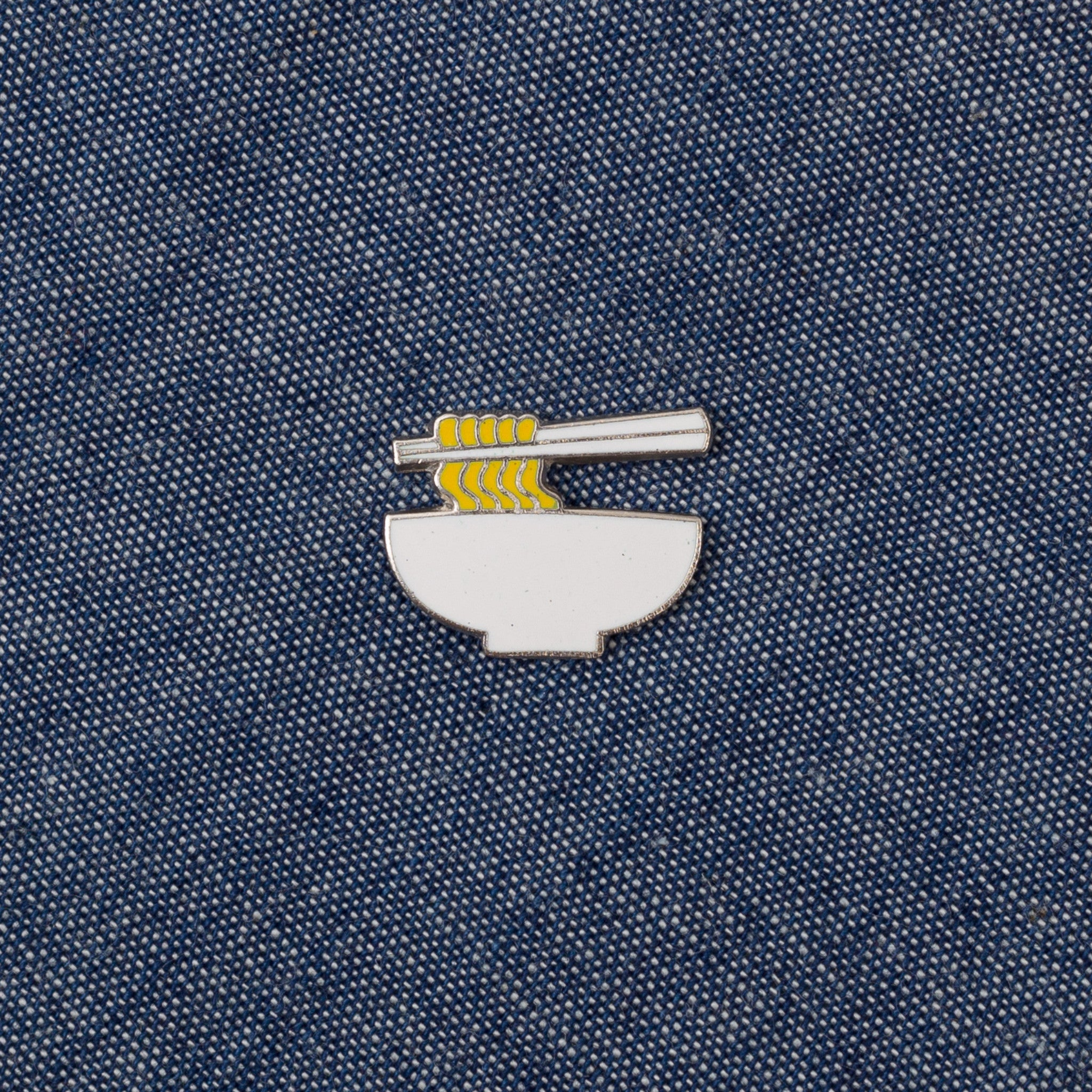 The Hill-Side - Cloisonne Enamel Lapel Pin, Ramen - PN1-01