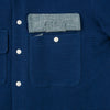 The Hill-Side - Coupe Shirt, Selvedge Lightweight Indigo Sashiko - SH5-244