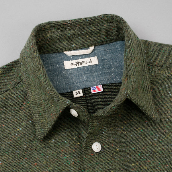 The Hill-Side Coupe Shirt, Wool Blend