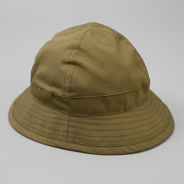 The Hill-Side - Daisy Mae Hat, Waterproof MizuTech Cotton, Olive - HA5-391