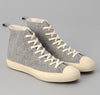 The Hill-Side - Donegal Tweed High Top Sneakers, Grey / Tan - SN4-220
