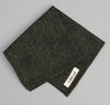 The Hill-Side Donegal Tweed Pocket Square, Hunter Green