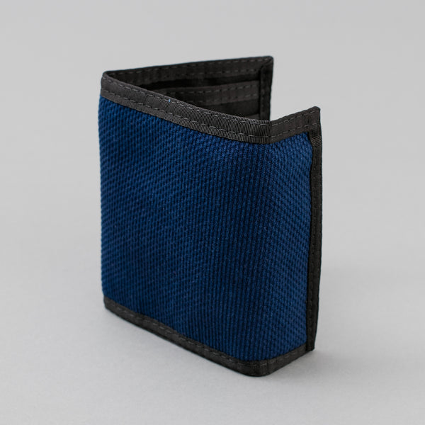 The Hill-Side - EZ Wallet, Selvedge Lightweight Indigo Sashiko - WA2-244