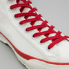 The Hill-Side - Early Trainer Mid, Waterproof MizuTech Cotton, Home White - SN9-395