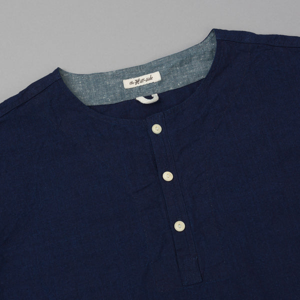 The Hill-Side - El Segundo Shirt, Selvedge Oxford Double Indigo - SH3-327