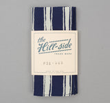 The Hill-Side - Endo Stripes Print Bandana, Navy - BA1-345