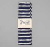 The Hill-Side - Endo Stripes Print Scarf, Navy - SC1-345