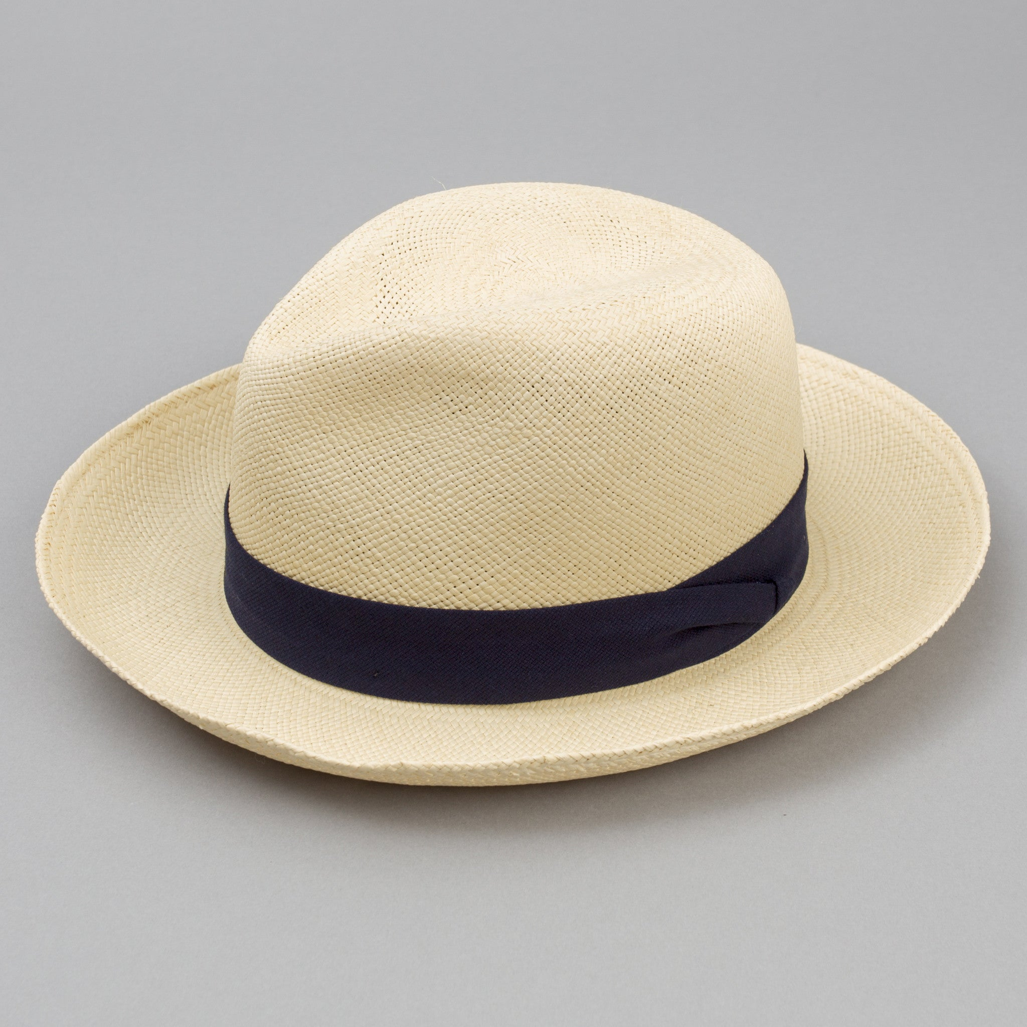 The Hill-Side - Genuine Toquilla Palm Straw Panama Hat - HA3-072