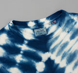 The Hill-Side - Hand-Dyed Shibori T-Shirt, Natural Indigo - TS1-0008