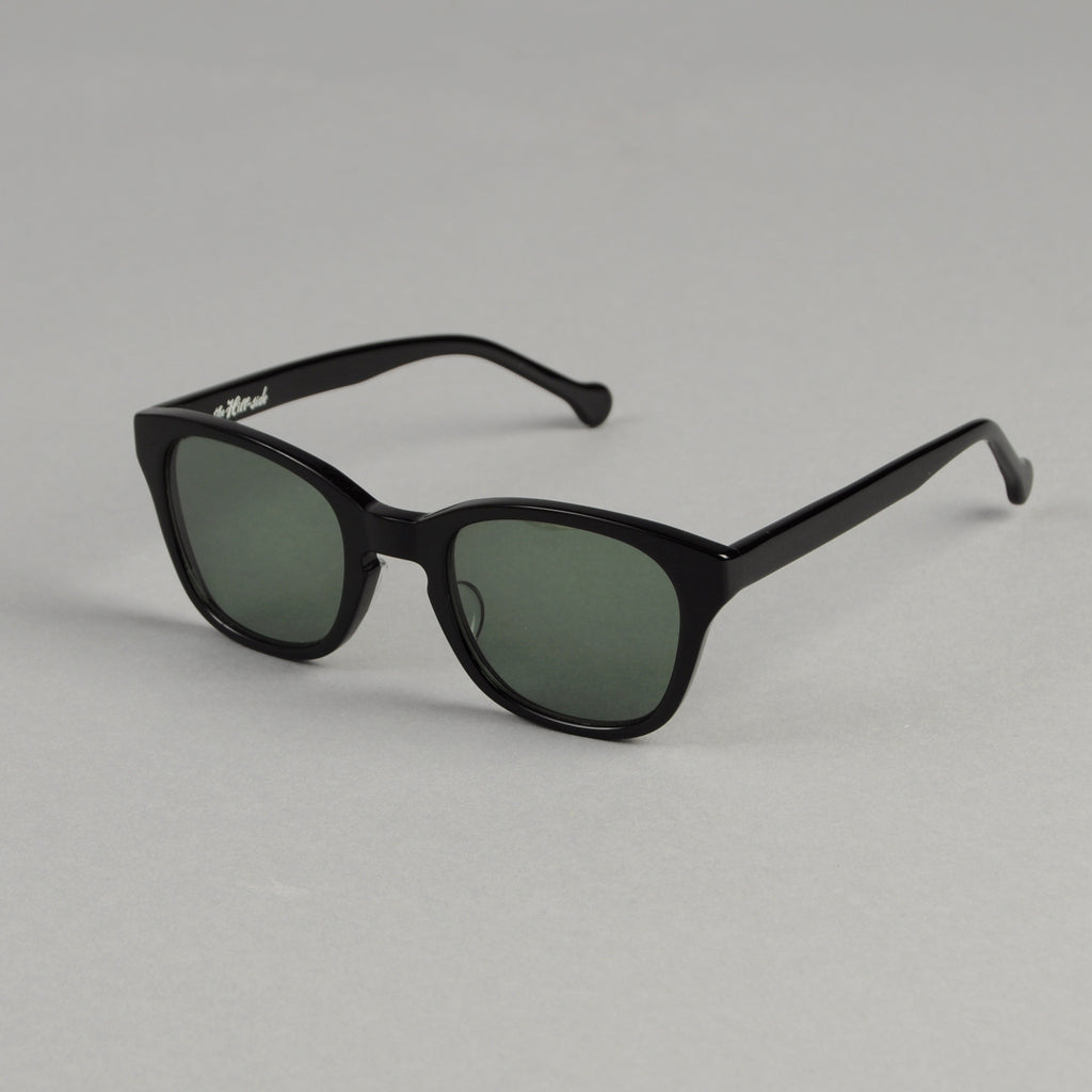 The Hill-Side - Handmade Acetate Sunglasses, Black - SU2-01