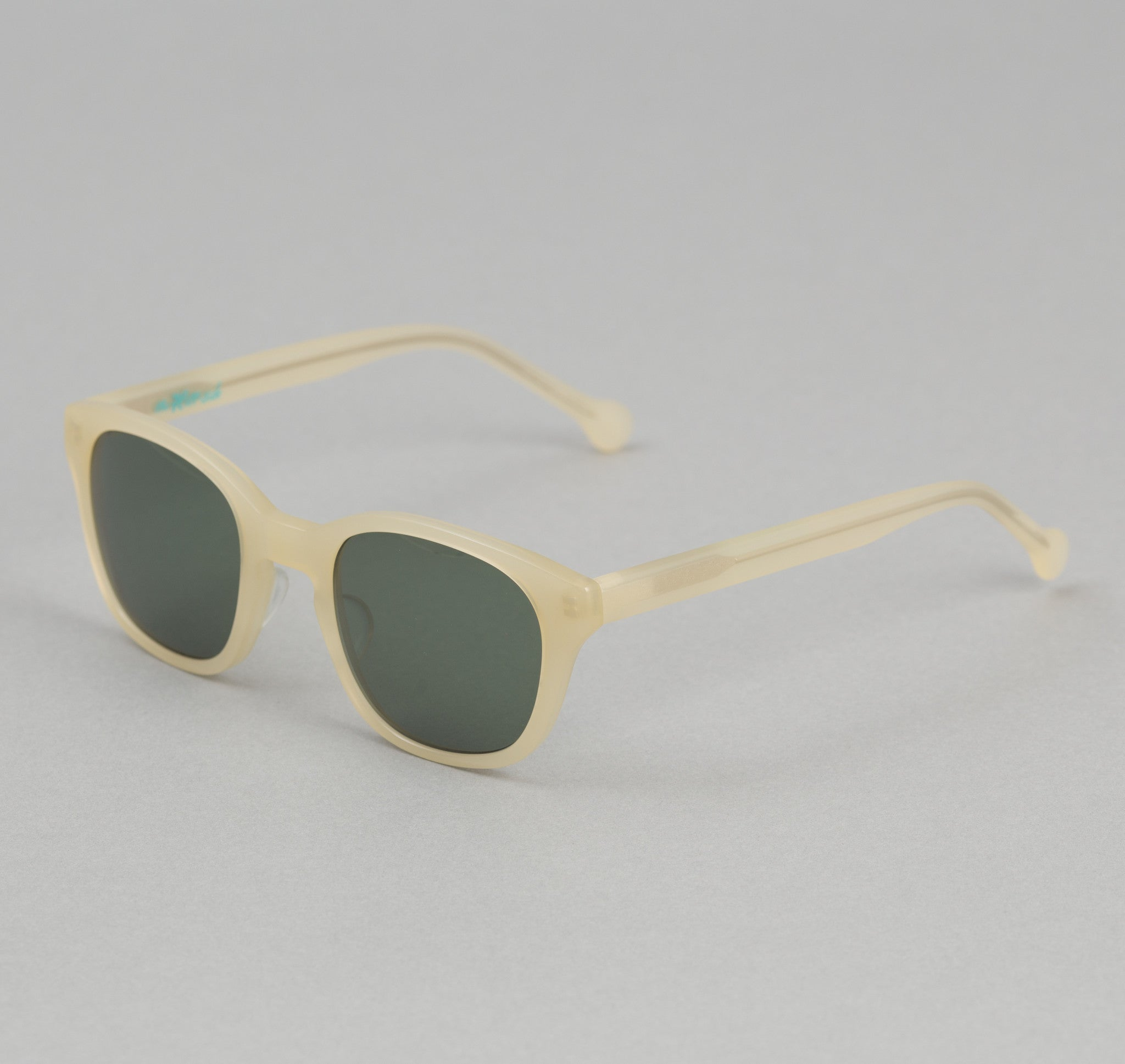 The Hill-Side Handmade Acetate Sunglasses, Off-White