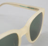 The Hill-Side - Handmade Acetate Sunglasses, Off-White - SU1-04