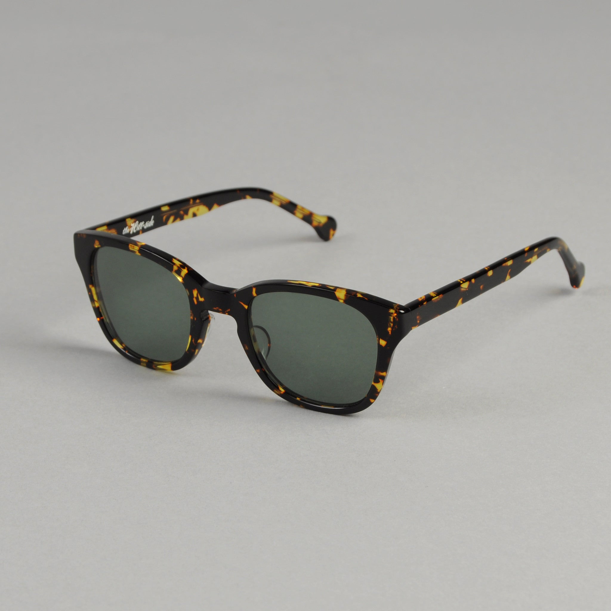 The Hill-Side - Handmade Acetate Sunglasses, Tortoise - SU2-02