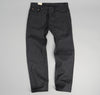 The Hill-Side - Heavyweight Covert Twill 5-Pocket Pants, Black - JE2-305