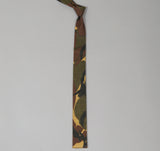 The Hill-Side - Hungarian Camouflage Print Tie, Olive / Brown - N57-140