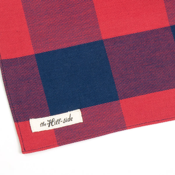 The Hill-Side - BA1-380 - Indigo / Red Bandana, Buffalo Check