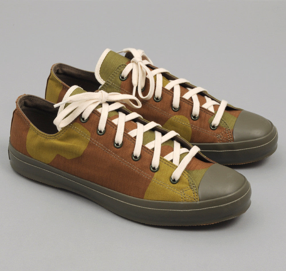 The Hill-Side - Italian Camouflage Print Low Top Sneakers - SN1-173