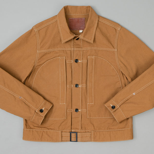 The Hill-Side - Japanamerica Type II Jacket, American Brown Duck Canvas - JK11-313