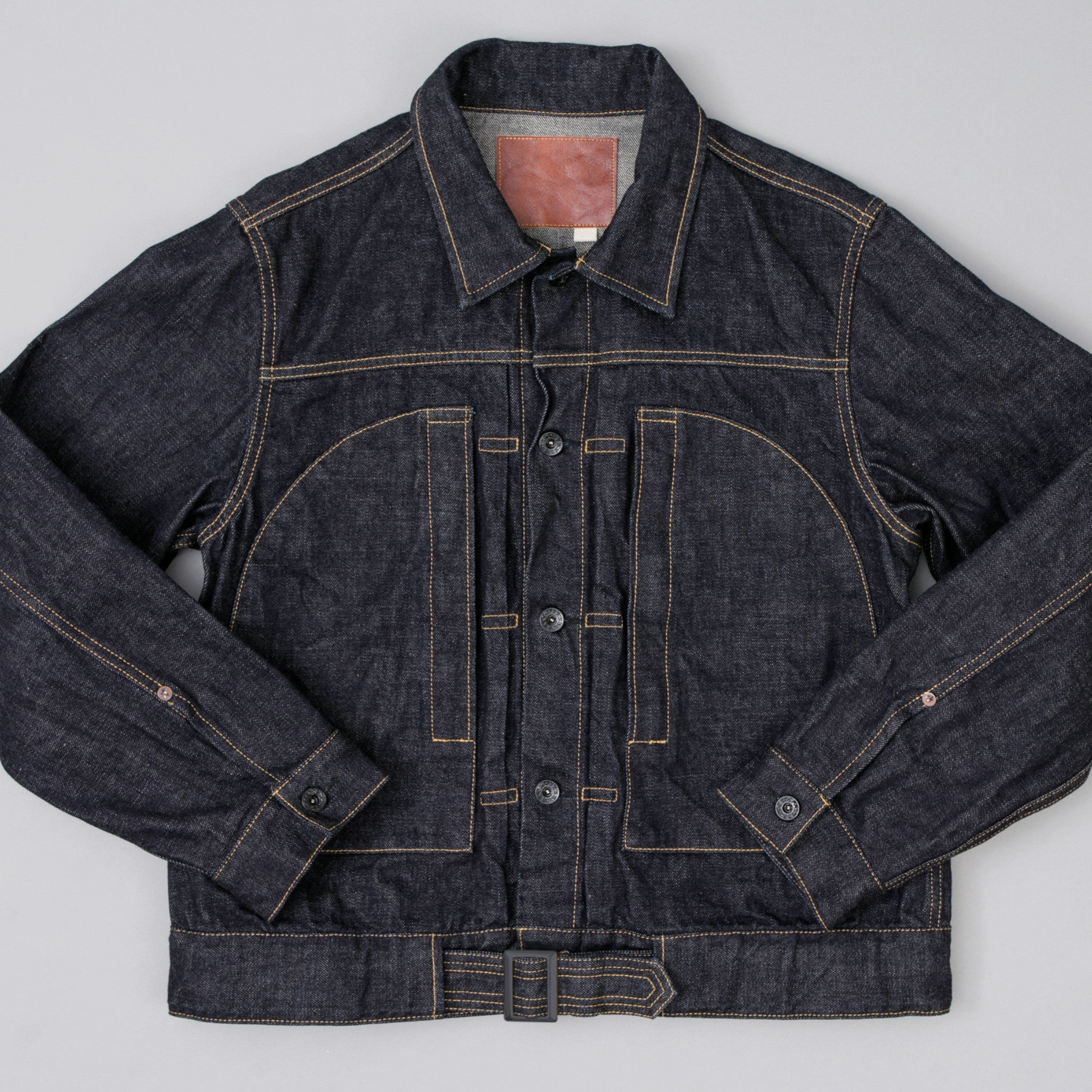 The Hill-Side - Japanamerica Type II Jacket, TH-S Mills 14 oz Okayama Selvedge Denim - JK11-363
