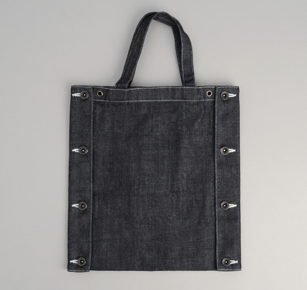 The Hill-Side - Japanese Denim TH-S x The Superior Labor 2-Way Tote Bag / Tie Holder - TB4-02