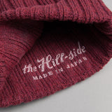 The Hill-Side - Knit Cap, Brick Red Irish Wool - KC2-02