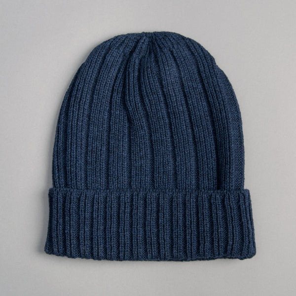 The Hill-Side - Knit Cap, Navy Irish Wool - KC2-01