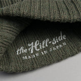 The Hill-Side - Knit Cap, Olive Irish Wool - KC2-05