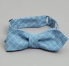 The Hill-Side - LIGHT BLUE GRID BOW TIE - BTN-152