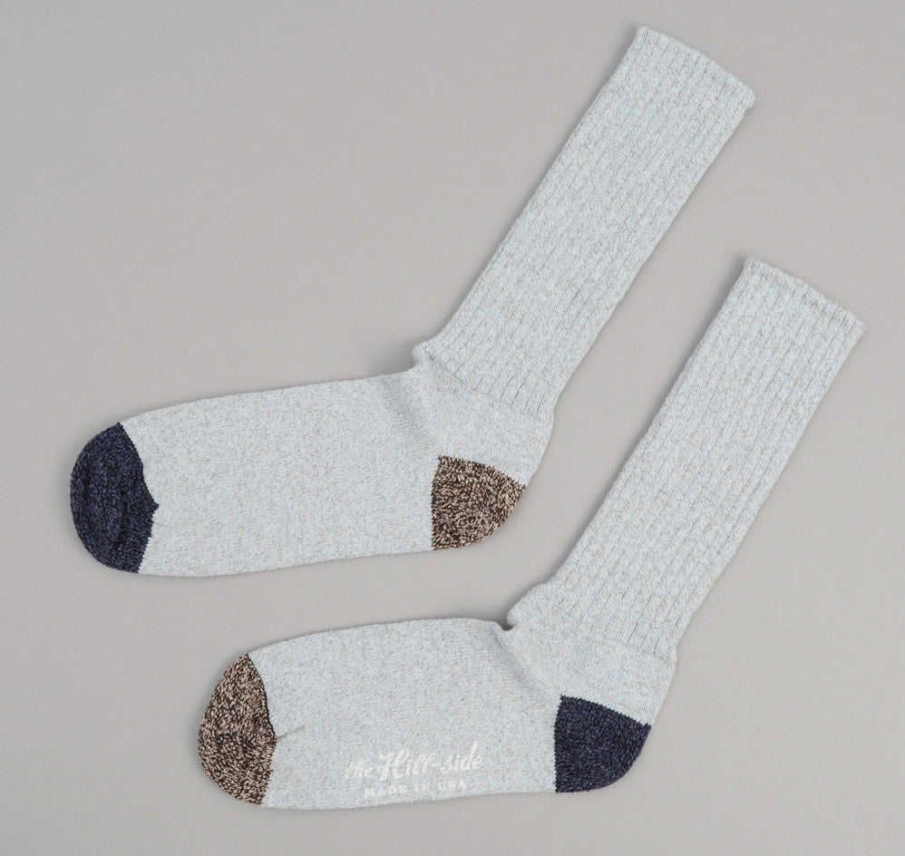 The Hill-Side - Light Blue / Navy / Salt & Pepper Socks - SX2-07
