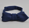 The Hill-Side - Lightweight Indigo Sashiko Bow Tie - BT1-244