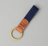 The Hill-Side Lightweight Indigo Sashiko Key Fob